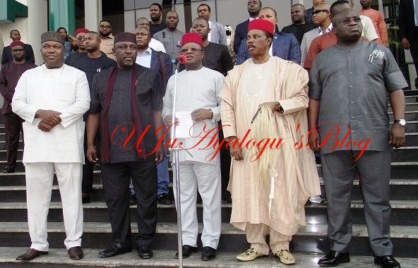 BREAKING: South-East Governors Denounce IPOB