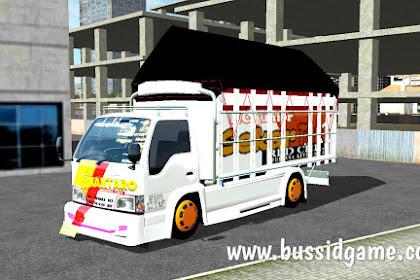 Mod Truck Isuzu NKR Special Flashlight By Aldovadewa