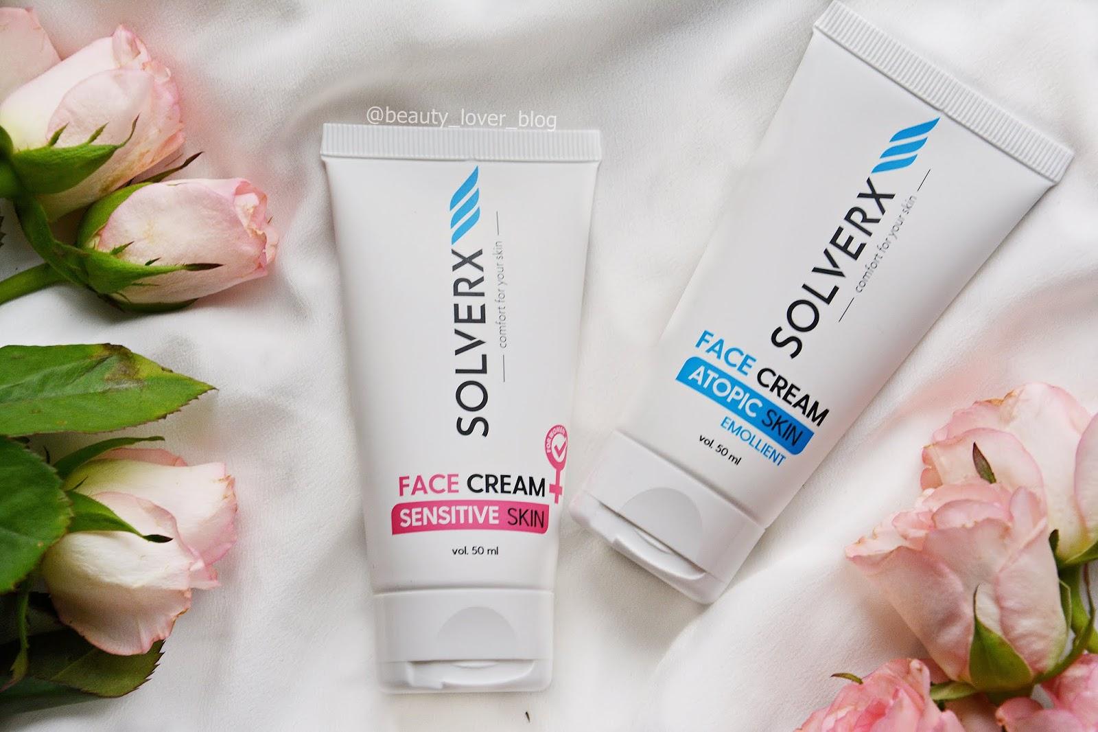 Solverx- krem do twarzy dla skóry atopowej oraz wrażliwej
