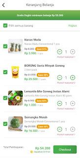 Belanja di Sayurbox