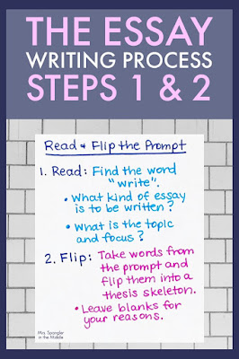 Use these steps to help the struggling middle school student write better essays!
