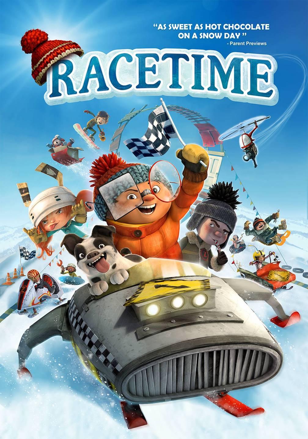 Racetime [2019] [CUSTOM BD] [DVDR] [NTSC] [Latino]