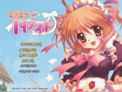 Love Love H Maid Visual Novel