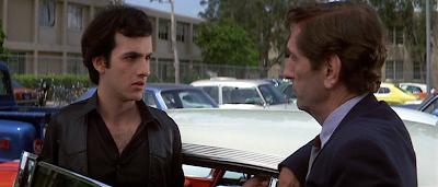 Keith Gordon and Harry Dean Stanton in Christine (1983)