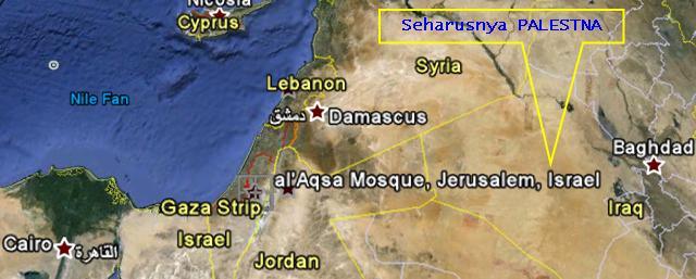 Peta Palestina Dihilangkan, PBNU: Jika tidak Dikembalikan akan Kami Lawan