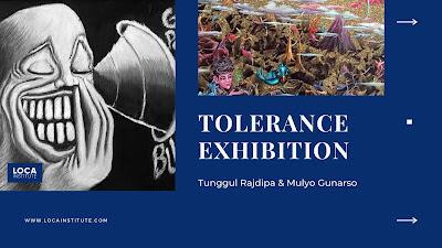 Pameran Seni Toleransi Tunggul Rajdipa dan Mulyo Gunarso