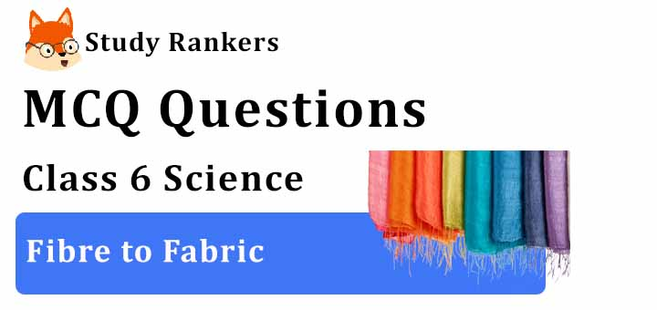 MCQ Questions for Class 6 Science: Ch 3 Fibre to Fabric
