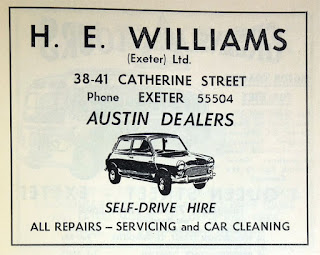 H E Williams 1961 advert from GracesGuide.co.uk