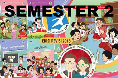Buku Tematik Kelas 6 K13 Revisi 2018 Semester 2