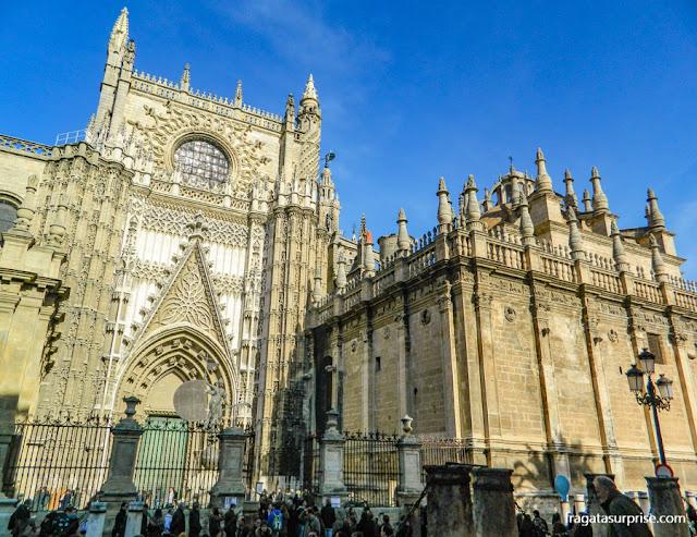 Porta do Príncipe, acesso para visita turística à Catedral de Sevilha