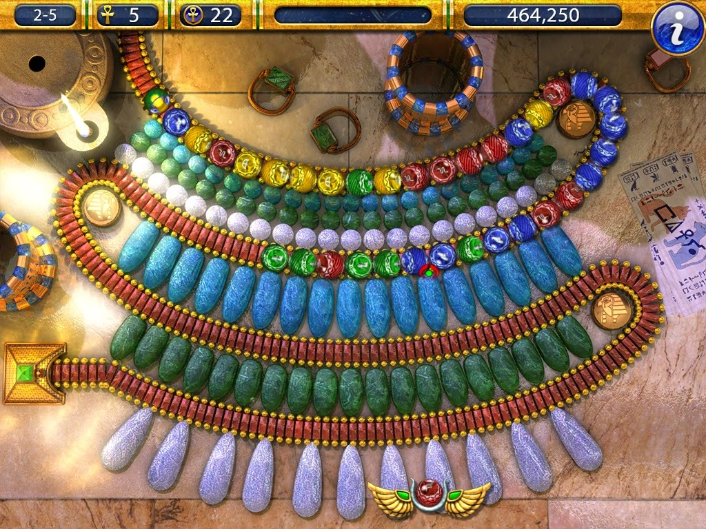 Luxor game review download and play free version!