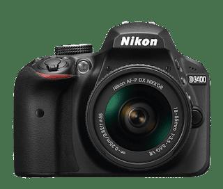 Harga Kamera DSLR Nikon D3400 termurah terbaru dengan Review dan Spesifikasi Juni 2019