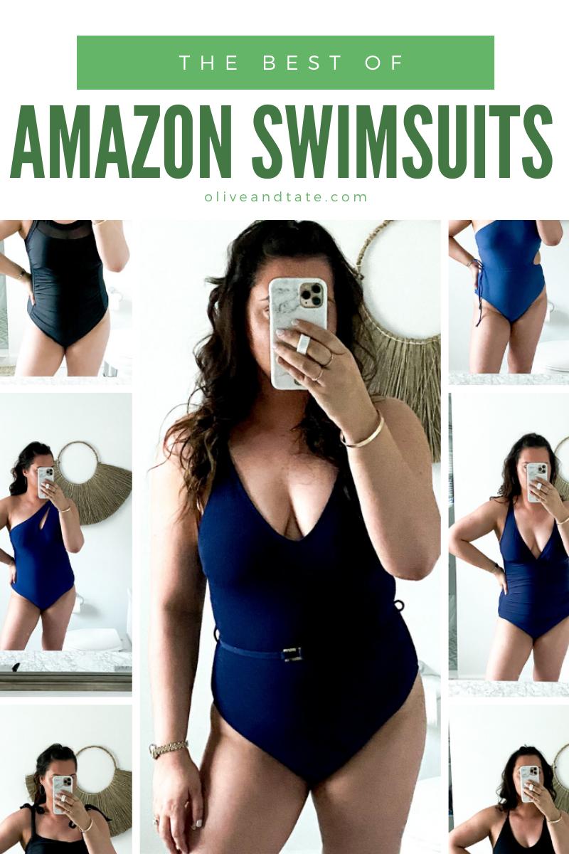 2021 Swim Try On: Amazon Budget Friendly One Pieces