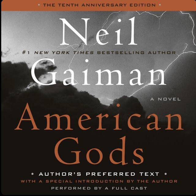 Neil Gaiman - American Gods -kirjan kansi