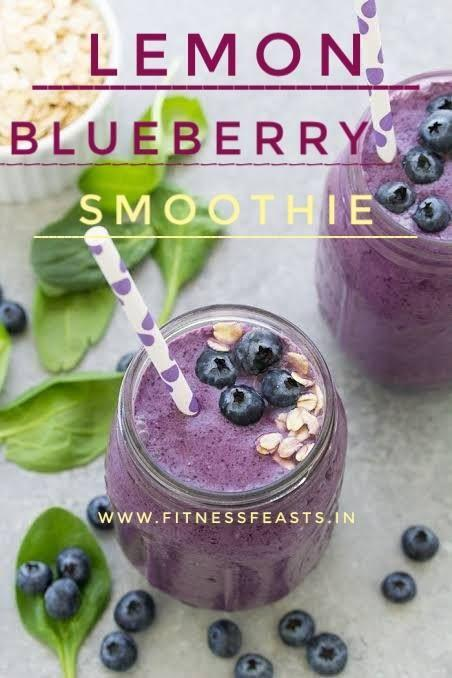 Lemon Blueberry Smoothie
