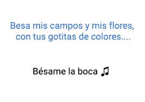 Ricardo Montaner Bésame La Boca significado de la canción.