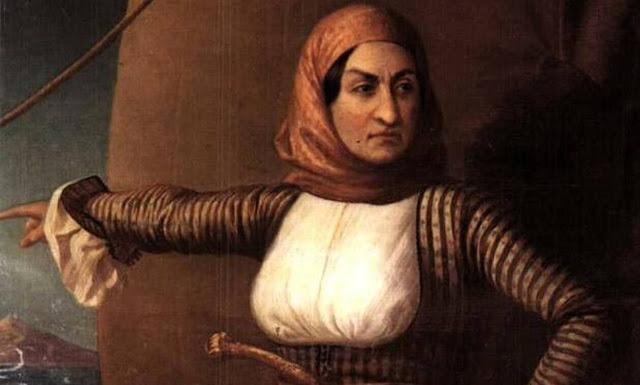 Στις 11 Μαΐου 1771 γεννιέται ''Η κυρά της επανάστασης'' Λασκαρίνα Μπουμπουλίνα