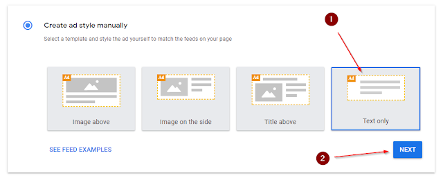 what is adsense in-feed ad