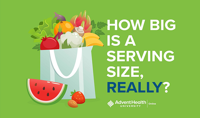 How Big Is a Serving Size, Really?