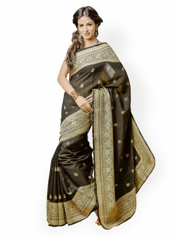 79f8f7edc Get Tips Women s Dress Materials and Printed Silk Sarees - Myntra ...