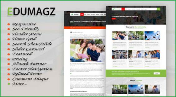 Edu-Magz-blogger-template