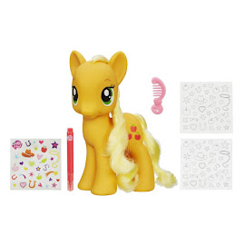 My Little Pony Styling Size Wave 2 Applejack Brushable Pony