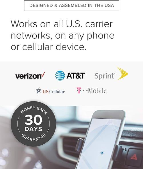 weBoost Drive 4G-X OTR Truck Cell Phone Signal Booster