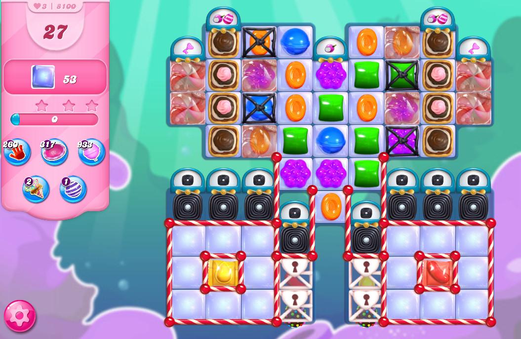 Candy Crush Saga level 8100
