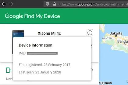 Mencari IMEI HP yang Hilang atau Dicuri