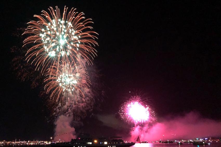 Feuerwerk Konstanz Bodensee