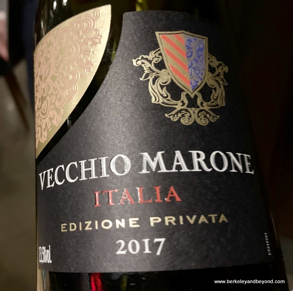 "2017 Vecchio Marone ""Privata"" (Veneto, Italy) wine at Veritas in Columbus, Ohio"