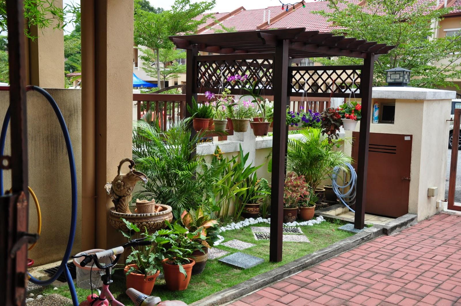 Lanskap Rumah Kampung Desainrumahid Com