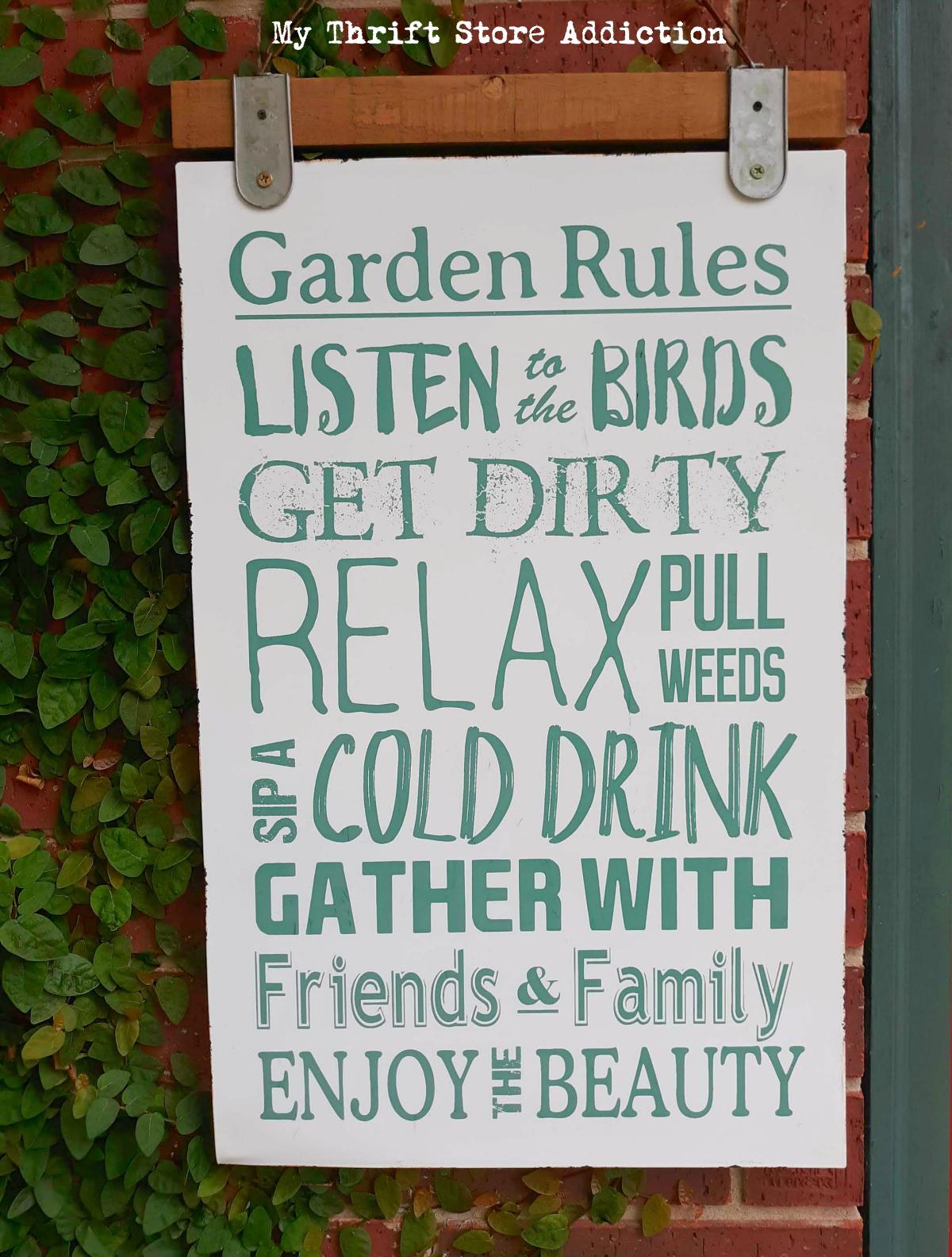 whimsical summer garden
