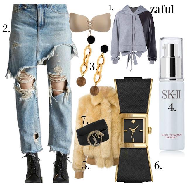 saintlurent,oliviaparlemo,sk2,wishlist,R13,zaful,oversizeearrings,fashion2017