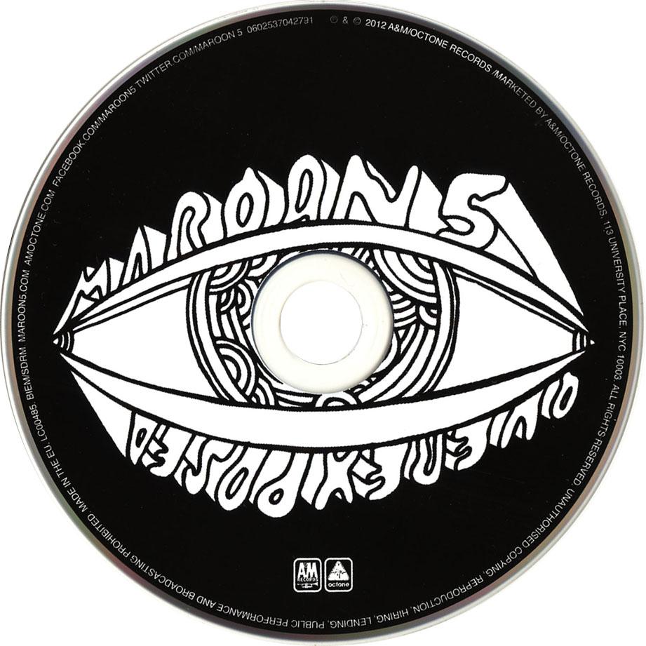 Amazoncom Overexposed Deluxe Edition Maroon 5 Music 2015 ...
