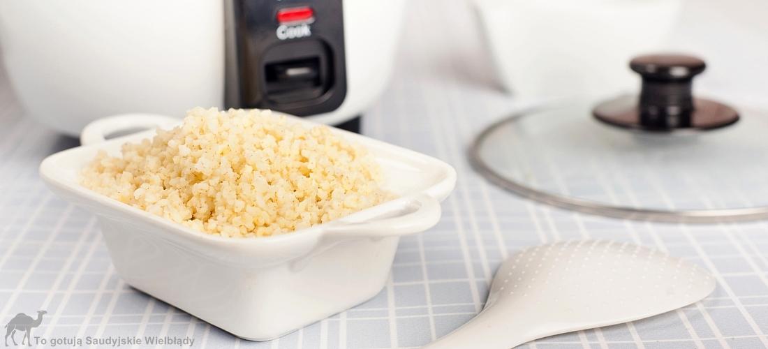 Garnek do gotowania ryżu czyli rice cooker