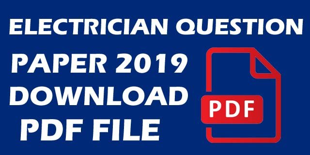 Iti previous year question papers