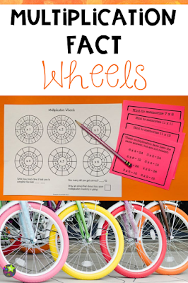 Multiplication Facts Wheels