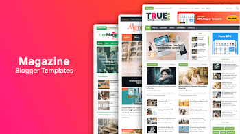 10 Premium Looking Magazine Blogger Templates of 2020 [Free Download]