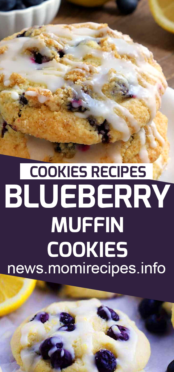 Blueberry Muffin Cookies | Cookie Recipes Chocolate Chip, Cookie Recipes Easy, Cookie Recipes Christmas, Cookie Recipes Keto, Cookie Recipes From Scratch, Cookie Recipes Sugar, Cookie Recipes Peanut Butter, Cookie Recipes Best, Cookie Recipes Unique, Cookie Recipes Snickerdoodle, Cookie Recipes Oatmeal, Cookie Recipes Healthy. #blueberrycookies #blueberrymuffin #cookiesrecipes