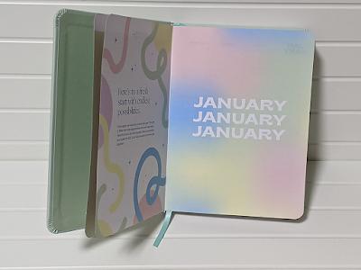 January page colourful i am kai