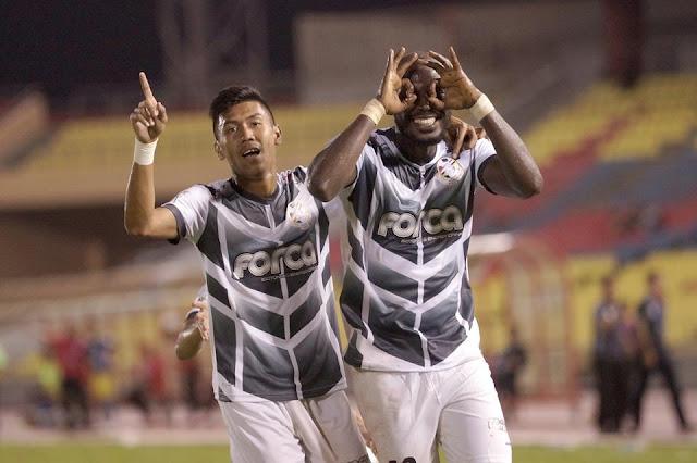 Dao Bakary cemerlang dengan 2 gol vs ATM FA petang tadi