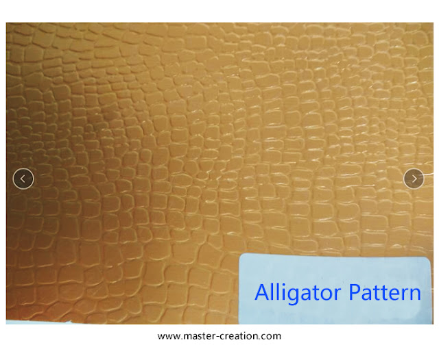 alligator grained paper