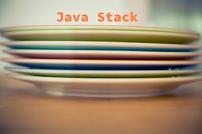 Java'da Stack Kullanımı