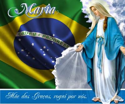 Resultado de imagem para nossa senhora e o brasil