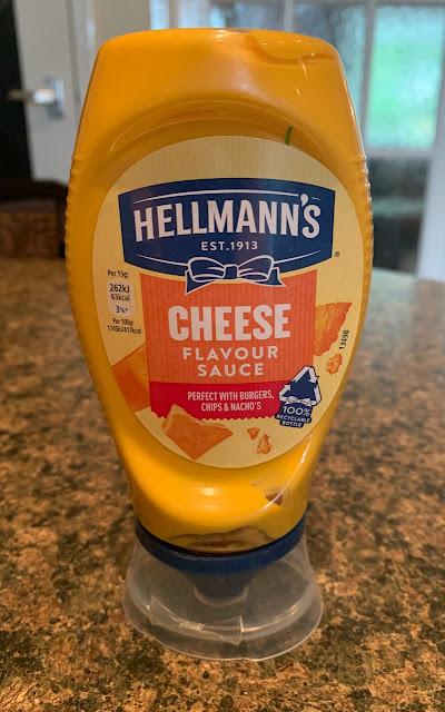 Hellmann's Cheese Flavour Sauce