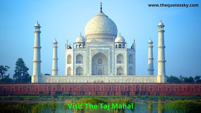 Taj Mahal Quotes & Captions for Instagram For [ 2021 ]
