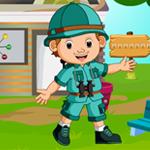 G4K Hiker Boy Rescue Game