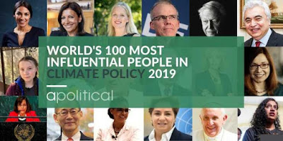 100 Most Influential People in Climate Policy