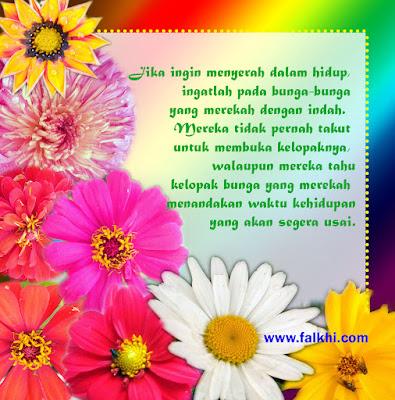 quote bunga cantik